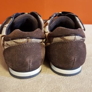 efc1314feee9 Coach Shoes - Coach Kyrie Signature Sneakers